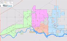 Post Falls District Map