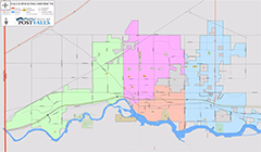 Post Falls Police Districts