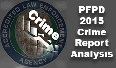 PFPD 2015 Crime Report Analysis