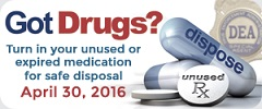 Prescription Drug Take-Back Day 2016