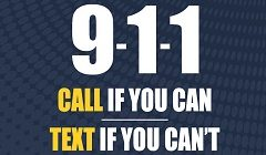 Emergency Text 911 Launched