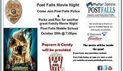 Post Falls Movie Night: Goosebumps