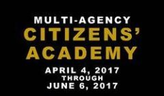 Multi-Agency Citizens' Academy 2017