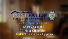 Victim Services Unit Launches New PSA