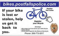 Bicycle License Registration