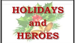Holidays and Heroes 2017 Donations