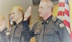 Police Badge Pinning Ceremony