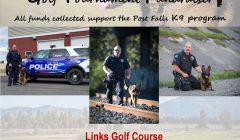 Fourth Annual Post Falls Police Department K9 Golf Tournament Fundraiser