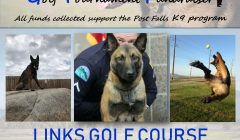 Fifth Annual Post Falls Police Department K9 Golf Tournament Fundraiser
